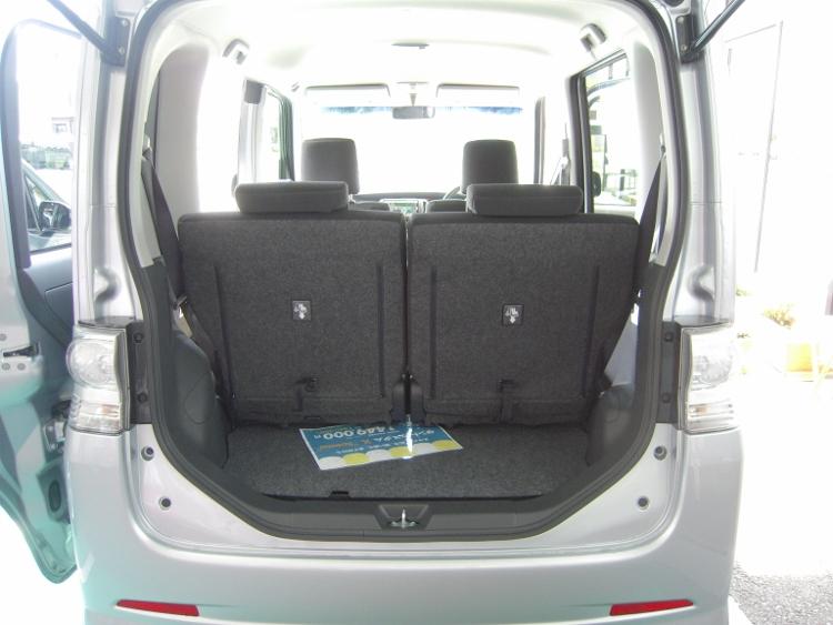 タントの荷室